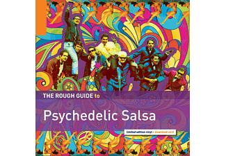 VARIOUS - Rough Guide: Psychedelic Salsa - (LP + Download)
