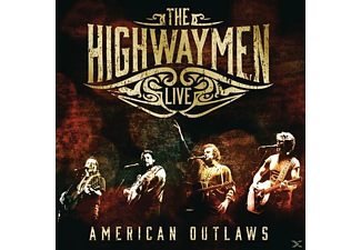 Highwaymen - Live-American Outlaws - (CD + DVD)