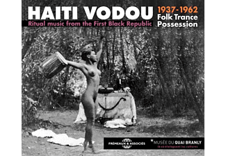 Ritual Music From First Black Republic 1937-1962 - Haiti Vodou,Folk Trance Possession-Ritual - (CD)