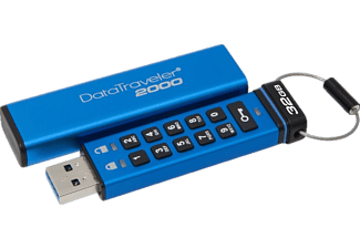KINGSTON 32 GB Şifreli USB 3.0 Bellek DT 2000