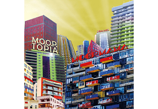 Moop Mama - M.O.O.P.Topia (Ltd.Gatefold/Dark Blue Vinyl) - (Vinyl)