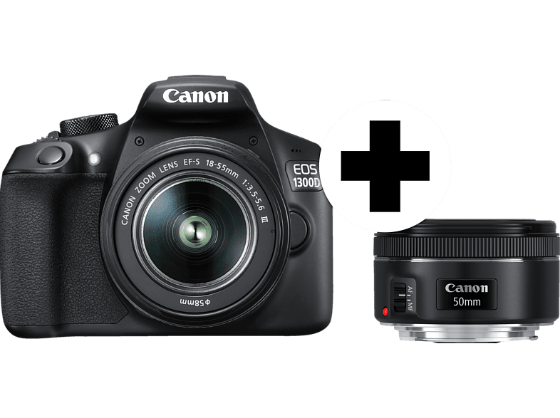 http://picscdn.redblue.de/doi/pixelboxx-mss-70362680/fee_786_587_png/CANON-EOS-1300D-Spiegelreflexkamera-inkl.-Objektiv-18-55-mm---Objektiv-50-mm-1.8-STM--CMOS-Sensor--Schwarz