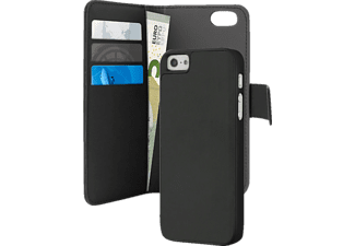 PURO Προστατευτική θήκη PURO DETACHABLE WALLET για iPhone 5 / 5s - (IPC5BOOKC3BLK)
