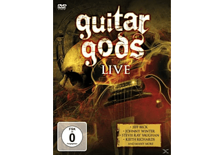 VARIOUS - Guitar Gods - (DVD)