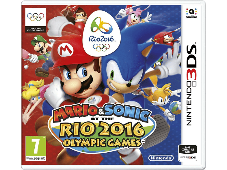 Mario & Sonic at the Rio 2016 Olympic Games gaming games nintendo 2ds  3ds games gaming φορητές κονσόλες games 2ds  3ds gami