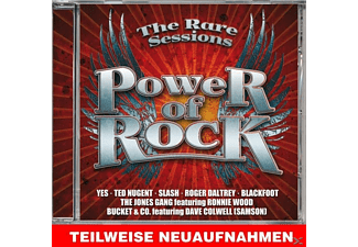 VARIOUS - Power Of Rock-The Rare Sessions [CD]