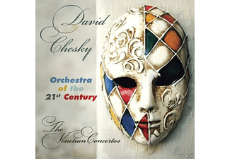 David Orchestra Of The 21st Century - The Venetian Concertos - (CD)