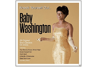 Baby Washington - Knock Yourself Out - (CD)
