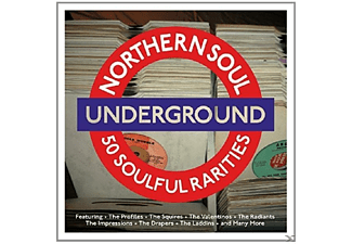 VARIOUS - Northern Soul Underground - (CD)