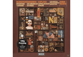 Los Angeles Philharmonic Orchestra - Candide-Ouvertüre/Appalachian Spring - (Vinyl)