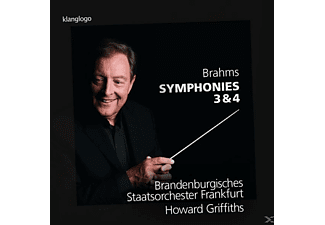 Brandenburgisches Staatsorchester, Griffiths - Sinfonien 3+4 [CD]