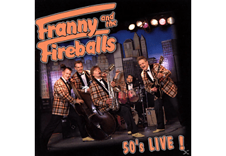 Franny And The Fireballs - 50's Live ! - (CD)