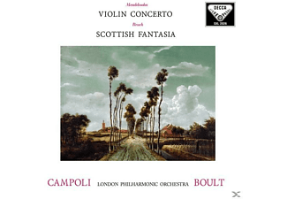 Campoli Alfredo, The London Philharmonic Orchestra - Violinkonzert Op.64 / Scottish Fantasia - (Vinyl)