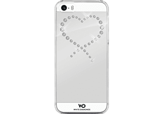 WHITE DIAMONDS Eternity Backcover Apple iPhone 5, iPhone 5s, iPhone SE Kunststoff Crystal