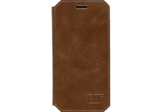 CAT Active Signature, Bookcover, Samsung, Galaxy S7 Edge, Leder (Obermaterial), Braun