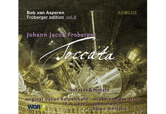 Bob Van Asperen - Toccata-Froberger-Edition Vol.8 - (CD)