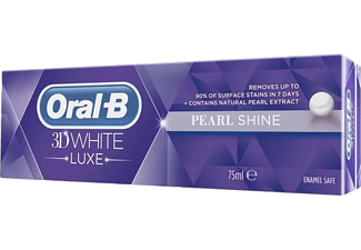 ORAL-B 3D White Luxe Pearl Shine Tandkräm 75 m