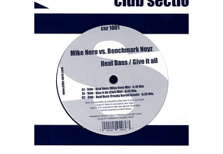 NERO,MIKE FEAT.NOYZ,BENCHMA - Real Bass-Give It All - (Vinyl)