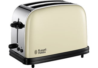 RUSSELL HOBBS 23334-56 Colours Classic Cream, Toaster, 1100 Watt
