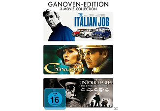 Ganoven Edition (The Italian Job / Chinatown / The Untouchables) [DVD]