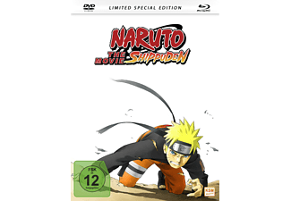 Naruto Shippuden The Movie (2007) (Mediabook) - Limited Special Edition - (Blu-ray + DVD)