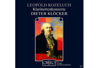 Klocker & Prager Kammerorkester - Klarinettenkonzerte 1/2/Sonate Concertante - (CD)