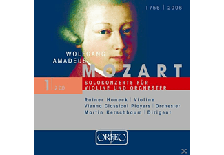 Vienna Classical Players, Rainer Honeck - Violinkonzerte KV 216/219/Sinf.concert./Concertone - (CD)