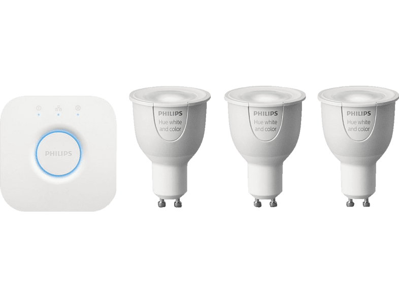 PHILIPS HUE 6.5W GU10 Starter kit 3 set  αξεσουάρ φωτισμός led computing   tablets   offline networking