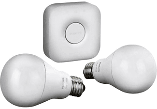 PHILIPS Huewhite 9.5W A60 E27 Starter kit