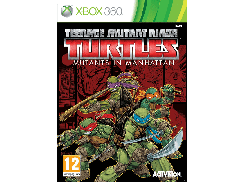 Teenage Mutant Ninja Turtles: Mutants In Manhattan Xbox 360 gaming games xbox 360 games