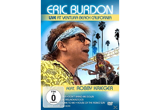 Eric Burdon, The Animals - Live At Ventura Beach California - (DVD)