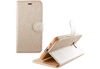 VOLTE-TEL Θήκη Lenovo K4 Note A7010 Leather -Tpu Book  Stand  Gold - (5205308162428)