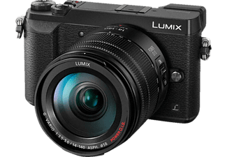 PANASONIC Lumix DMC-GX80H Systemkamera 16 Megapixel mit Objektiv 14-140 mm f/3.5-5.6, 7.5 cm Display   Touchscreen, WLAN