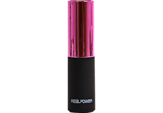 REALPOWER 187976, Powerbank, Pink