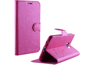 VOLTE-TEL Θήκη LG K10 K420 Line Leather-Tpu Book Stand Line Pink- (5205308162169)