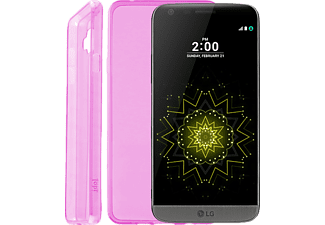 VOLTE-TEL Θήκη LG G5 H850 Ultra Thin Tpu 0.3mm Pink-(5205308163203)