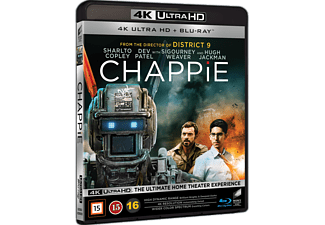 Chappie Action 4K Ultra HD Blu-ray