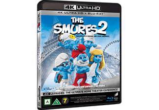Smurfarna 2 Animation / Tecknat 4K Ultra HD Blu-ray