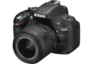 NIKON D5200 Kit Black (18-55mm VR II)
