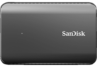 SANDISK Extreme® 900 Portable, 960 GB SSD, Silber