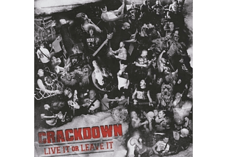 Crackdown - Live It Or Leave It - (CD)