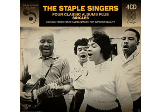 The Staple Singers - 4 Classic Albums Plus Singles - (CD)