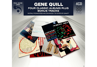 Gene Quill - 4 Classic Albums Plus Bonus Tracks [CD]