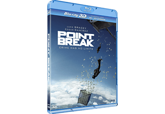 Point Break Action 3D BD & 2D BD, Blu-Ray