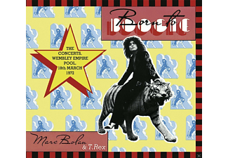 T.Rex and Marc Bolan - Born To Boogie-The Concerts,Wembley Empire Pool - (CD)