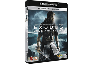 Exodus: Gods and Kings Äventyr 4K Ultra HD Blu-ray