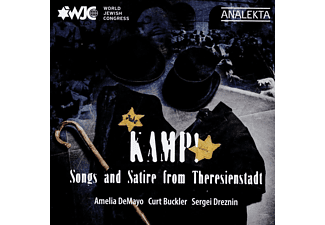 VARIOUS - Kamp! Songs and Satire from Theresienstadt - (CD)