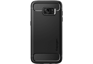 SPIGEN Rugged Armor Galaxy S7 edge Zwart