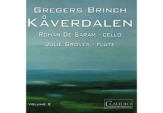de Saram,Rohan/Groves,Julie - Gregers Brinch (Volume 2) - (CD)