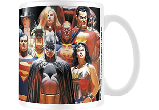 Justice League - Art By Alex Ross - Tasse